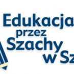 Edukacja przez szachy w szkole logo