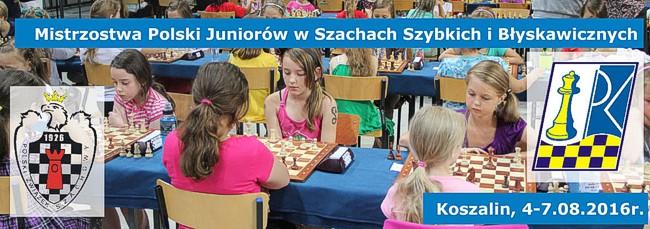 Mistrzostwa Plski Juniorów w Szachach Szybkich i Błyskawicznych